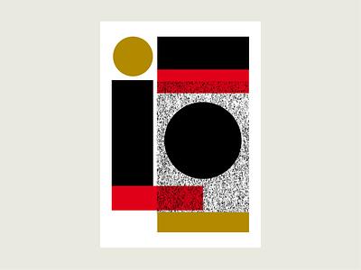 Geometric Terrain No 2 yin and yang
