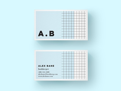 Book Keeper Business Card