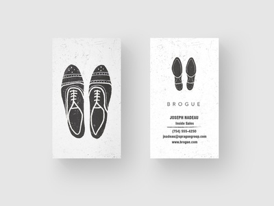 Shoe Business Card