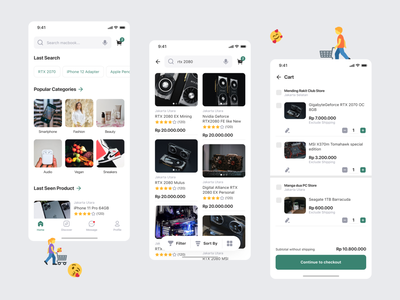 Marketplace UI Kit marketplace app marketplaces free ui kits free ui kit ui kit online store marketplace uiuxdesign app uiux ui mobile application mobile apps design mobile design mobile app mobile