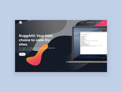 Landing Page Website Ruggaio