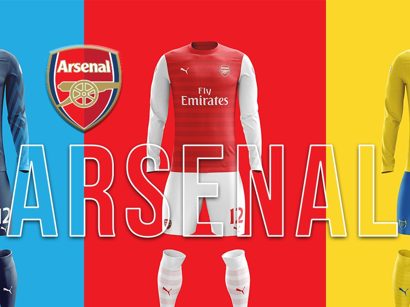 buy popular a9195 1ed5c Arsenal Kit Concepts 18-19 by William Geddes on Dribbble