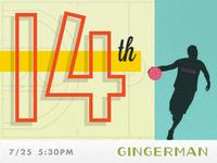 Dribbble Meetup #14: 7/25 @ The Gingerman