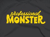 Professional Monster Shirt Design