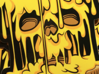 Evil Grilled Cheese Sticker