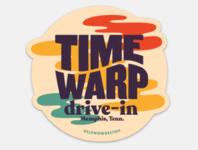 Time Warp Drive-In 2019 sticker
