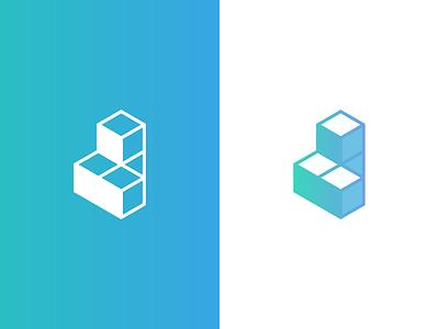 CubedPay Logo payment cube brandmark branding brand logo cubedpay