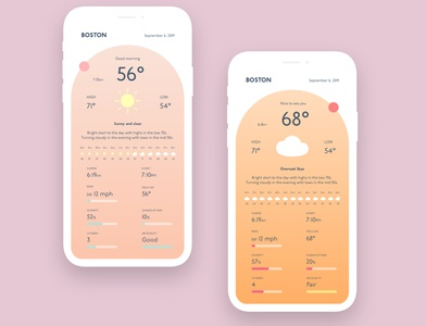 Weather App Concept - Day