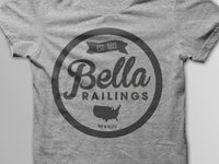Bella Railings Shirt Design