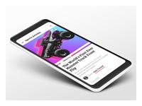 Sports Articles Aggregator App