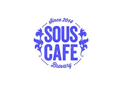 Sous Cafe cafe acid hipster blue