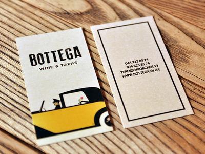 Business card for restaurant  car restaurant card business