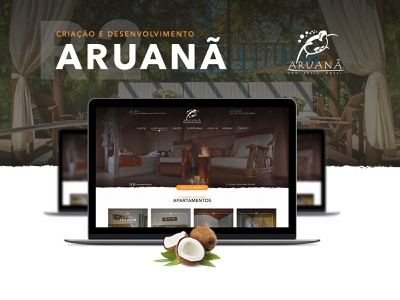 Aruanã Eco Praia Hotel - Web site design hotel design site webdesign web ux designer site design ui dribbble design
