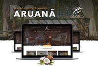 Aruanã Eco Praia Hotel - Web site design