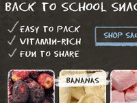 Back to School Email Campaign