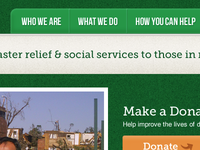 Disaster Relief Non-Profit Website II