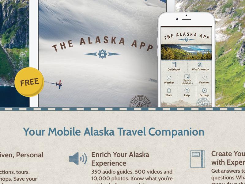 Alaska app landing