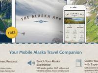 The Alaska App Landing Page Design