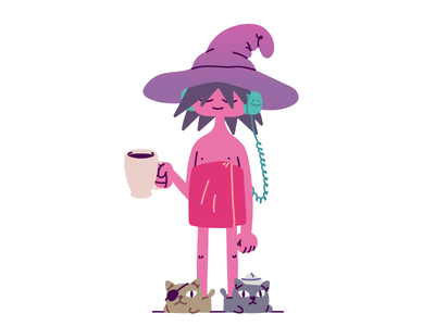 Clancy and the Pirate Cats character design characterdesign trippy morning coffee duncan trussell fan art fanart pirate cat clancy midnight gospel netflix character hand drawn drawing vector illustration