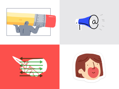 Top Dribbble Shots 2018