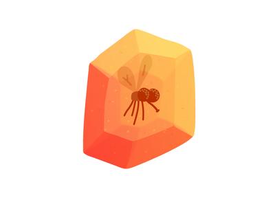 Amber Mosquito