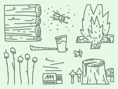 Campfire S'mores Essentials