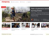 Change.org Homepage r2