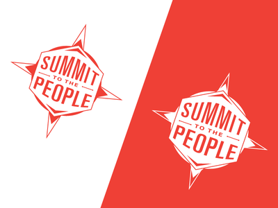 Summit To The People logo identity brand