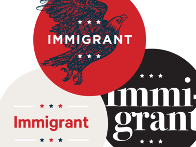Immigrant pin