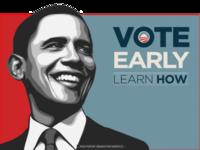 Obama 2008 Vintage Banner