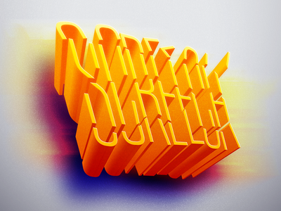 Screech graphic graphicdesign typography typo photoshop illustrator inktober