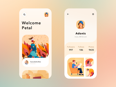 Applied design exercise ui ux design mobile