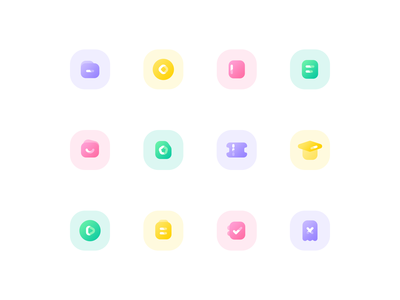 Icons mobile app design ux ui icon