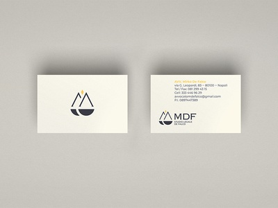 Lawyer Mirko De Falco - Visual identity