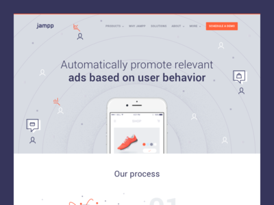 Jampp Case Study - Branding & Web Design
