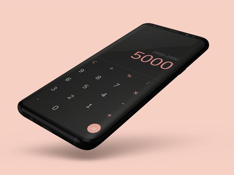 #DailyUiChallenge #004 calculator app calculator 004 dailyui004 design app design ui dailyuichallenge dailyui