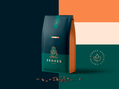 Senses - Coffee Packaging / Branding / Logo