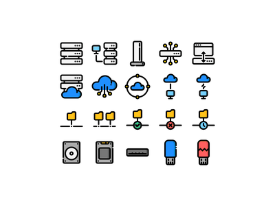 Servers & Clouds pc disconnected lost data disconnect lineart usb flash drive hdd ssd folder network landing server error icons iconset icon cloud app cloud storage cloud server