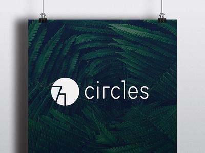New logo for 71circles corporate design typo branding logo