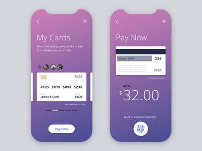 Daily UI Challenge #002 - Credit Card Checkout material typography simple pink checkout card dailyui design ux interface ui app