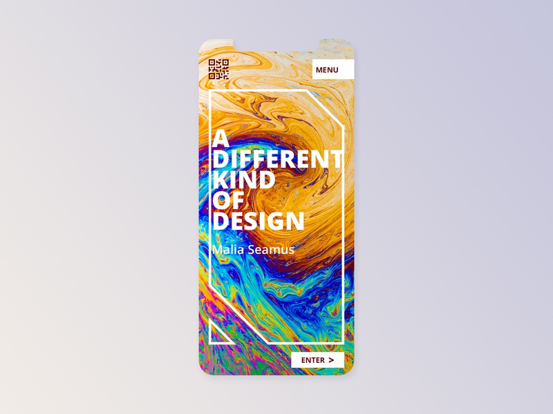 Landing Page UI different design thinking colors landing page sketch color type mix design ux interface ui