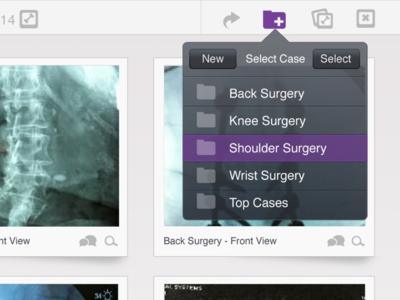 App Menu user-focused ios medical ipad menu ui ux application