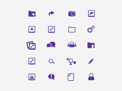 Medical, X-Ray Icon Set user-focused menu medical ipad ios application ux ui