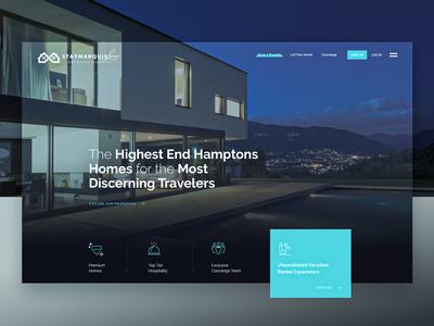 StayMarquis - Luxury Rentals Website