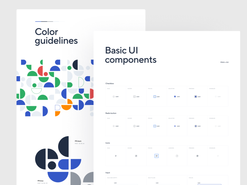 Patient Registry #4 system design guidelines components styleguide ui
