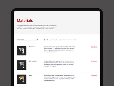 Antare ux web minimal desktop flat design simple ui