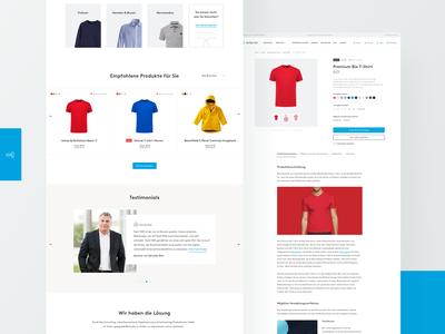 Textile One #4 e-commerce website ui ux shop retail redesign
