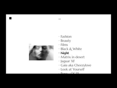 Laurent Castellani concept typography web design