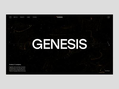 Genesis IT company animation web design