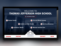 Thomas Jefferson High School Digital Signage